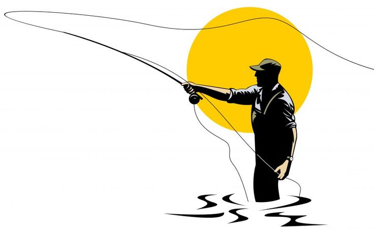 736x453 Fly Fishing Rod Clip Art Learn How To Catch Any Kind Of Fish