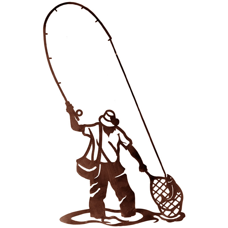 800x800 Fisherman Clipart Trout Fishing