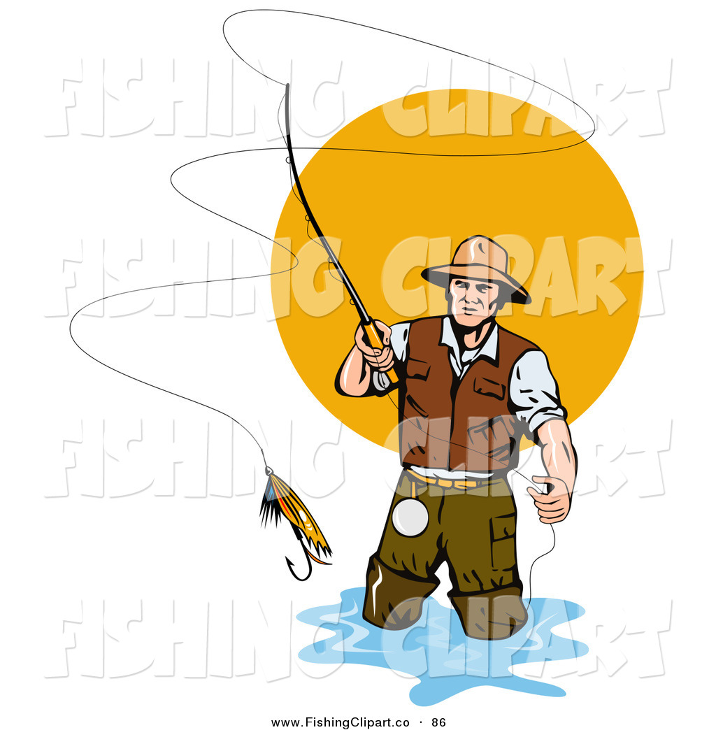 1024x1044 Fly Fishing Clipart Many Interesting Cliparts