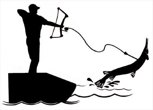 500x361 481 Best Fishing Silhouettes, Vectors, Clipart, Svg, Templates