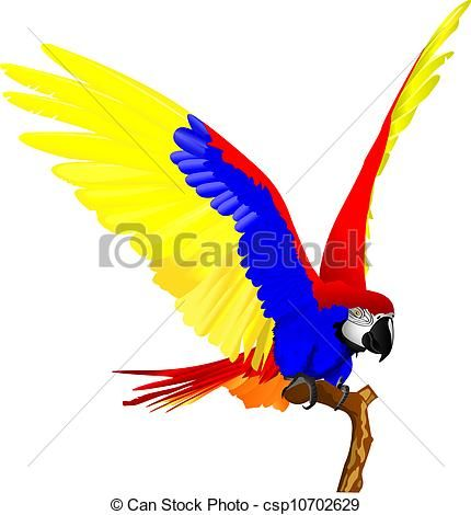 430x470 Best Parrot Clipart Parrot Fly Of Illustration