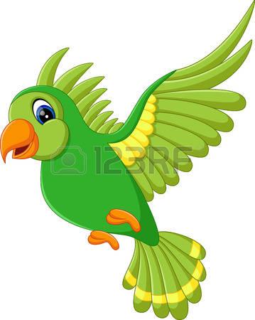359x450 Parrot Clipart Cute Flying Bird