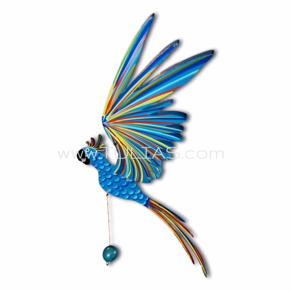 1024x1024 Blue Cockatiel Parrot Flying Bird Mobile