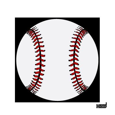 400x400 Baseball Ball Clipart