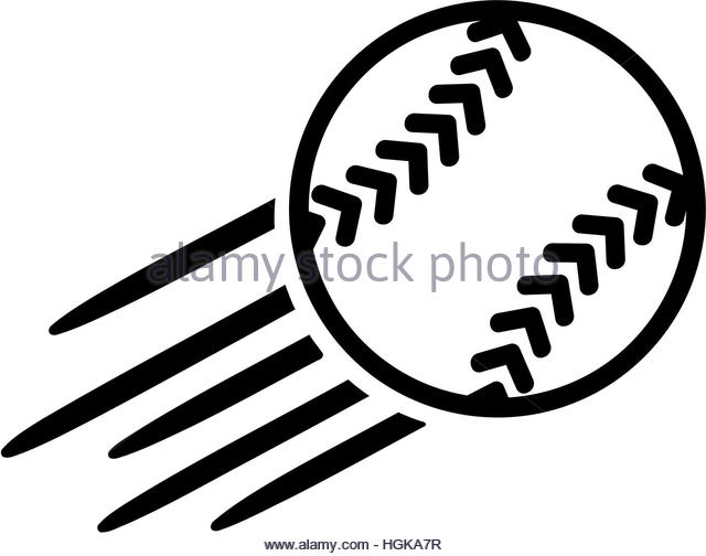 640x504 Flying Baseball Ball Icon Icon Stock Photos Amp Flying Baseball Ball