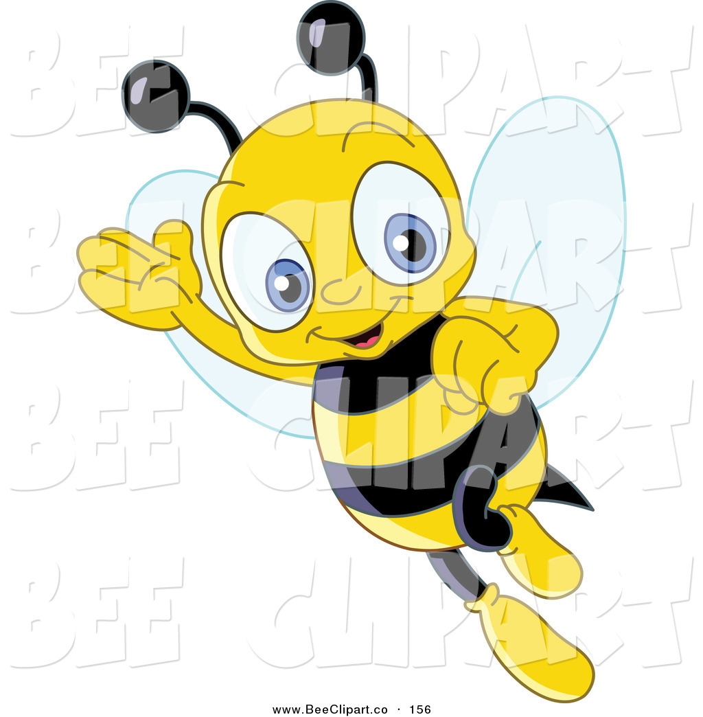 1024x1044 Bee Clipart Flying