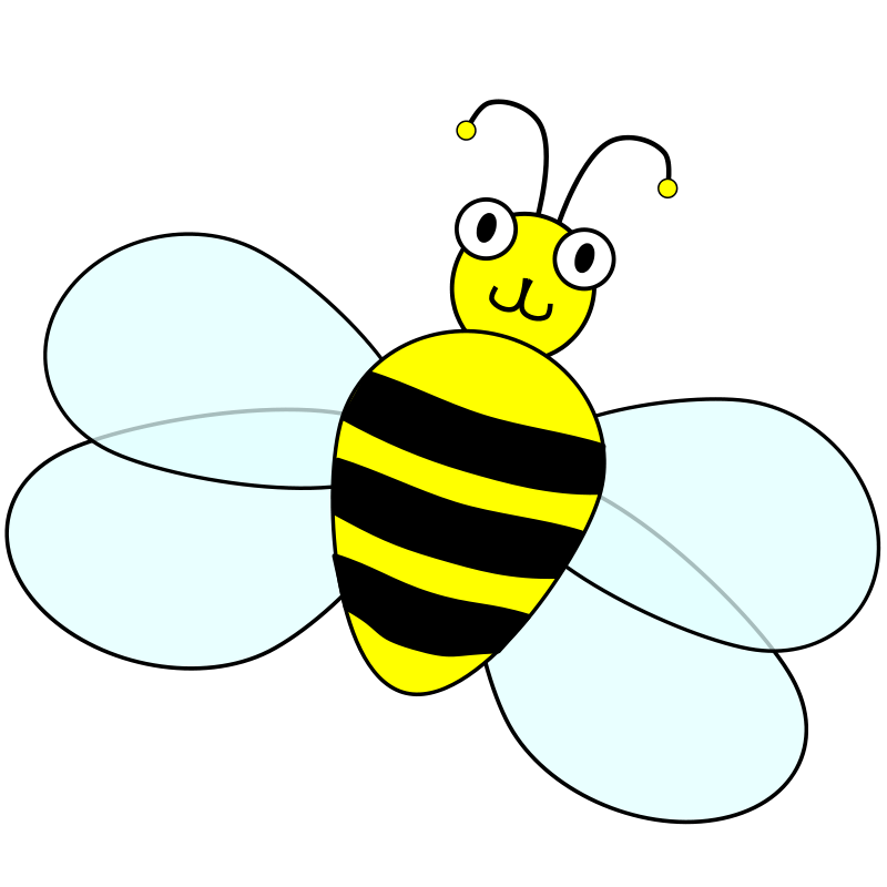 800x800 Flying Bee Clipart Craft Projects, Animals Clipart