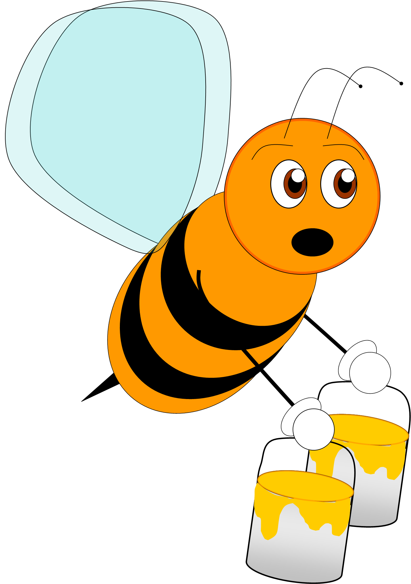 1399x1986 Bee 4 Free Images