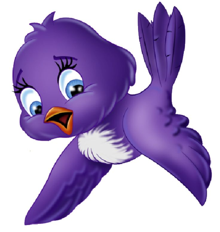 Flying Bird Cartoon Clipart