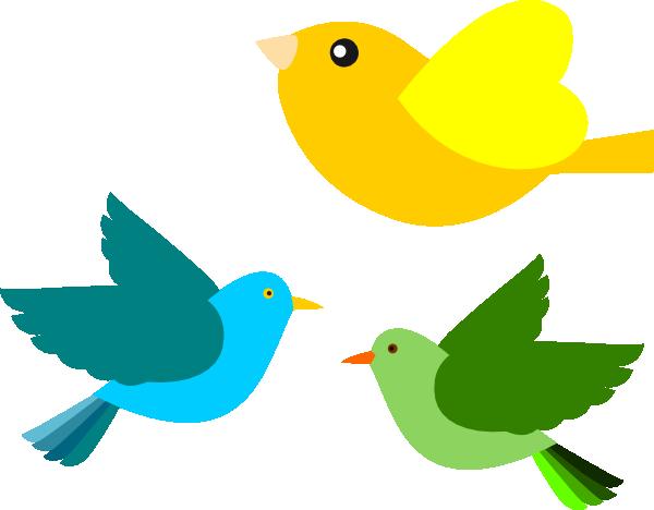 600x468 Birds Clip Art