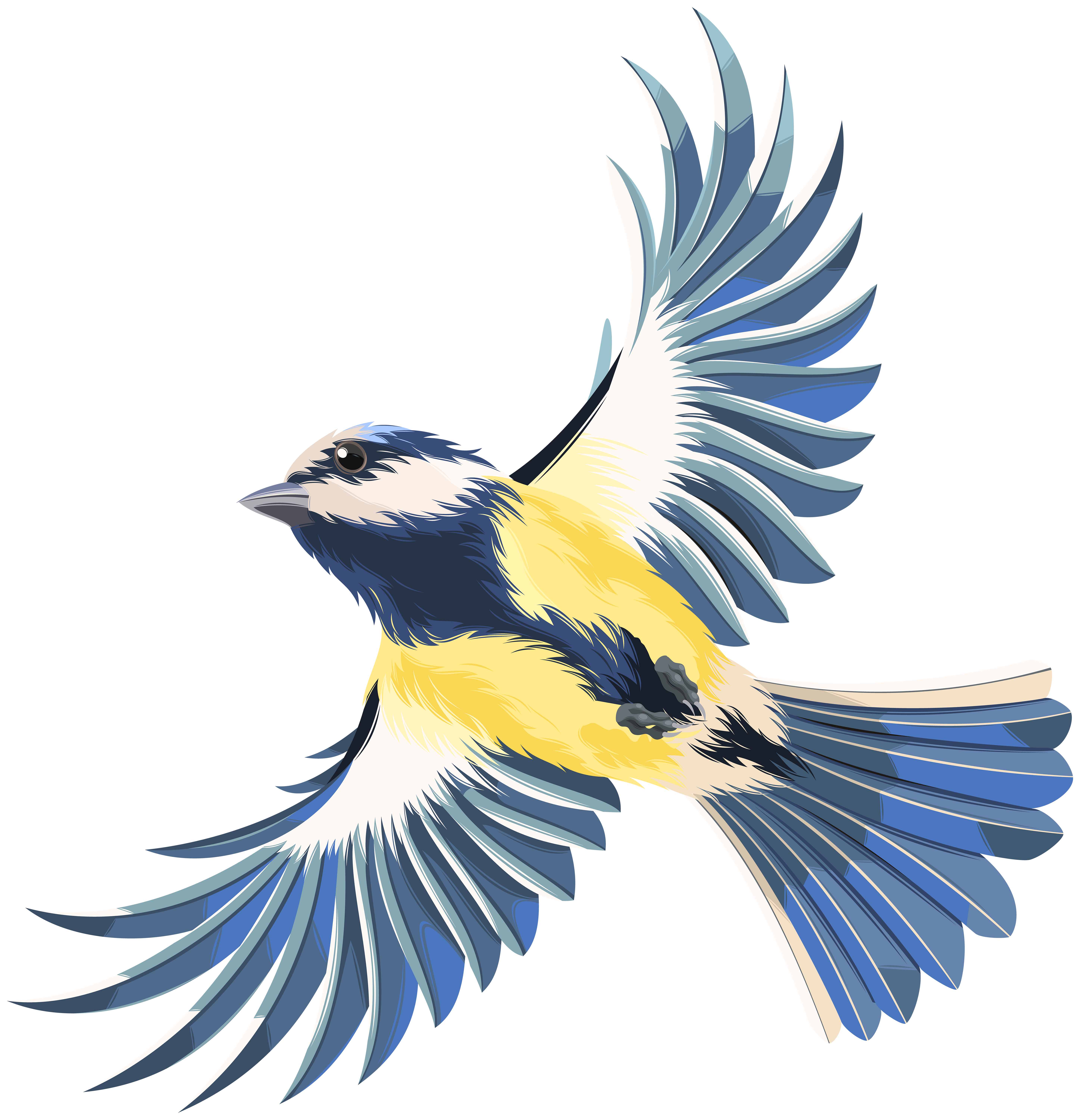 Flying Bird Clipart | Free download on ClipArtMag