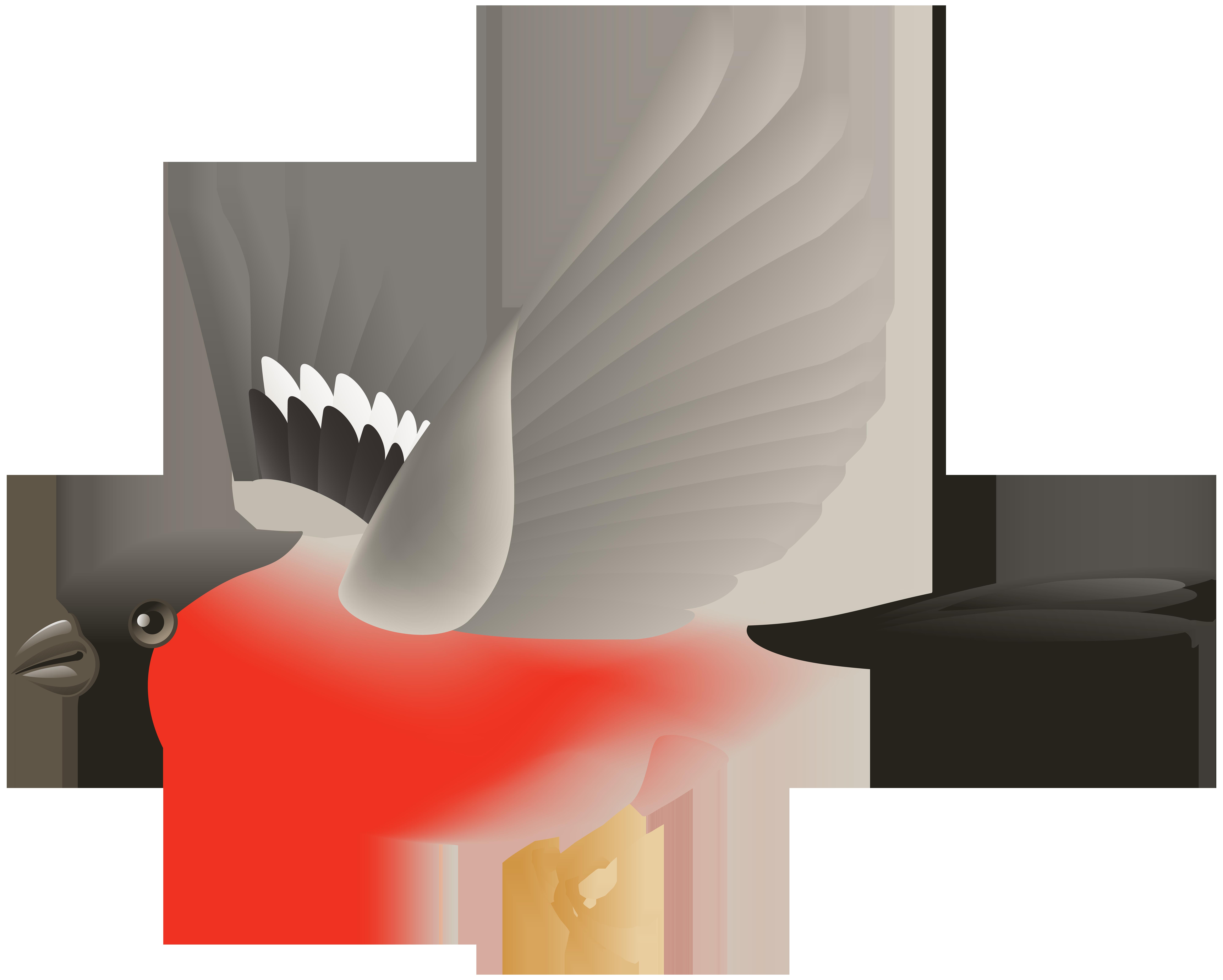 8000x6411 Red Flying Bird Transparent Clip Art Imageu200b Gallery Yopriceville