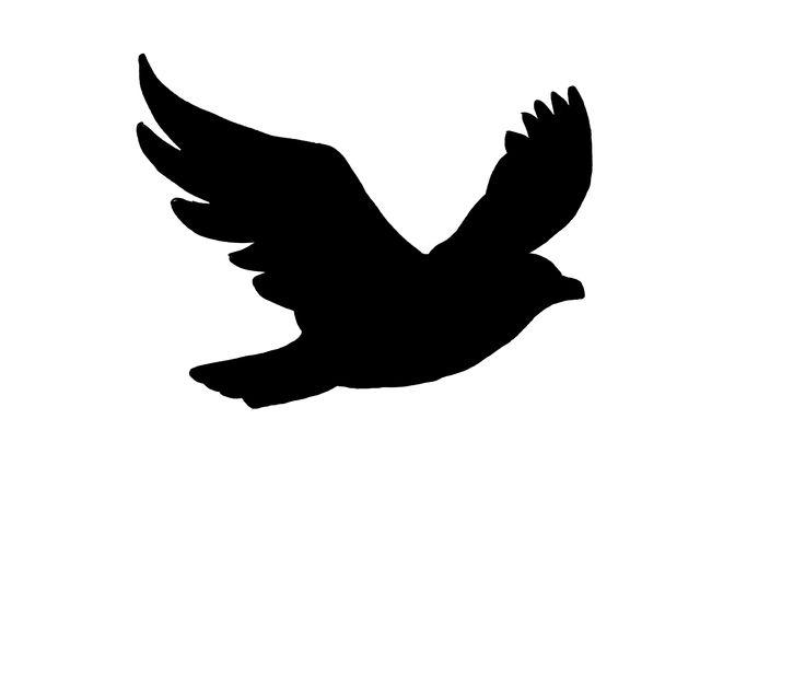 736x638 Bird Of Prey Clipart Flight Silhouette Clip Art