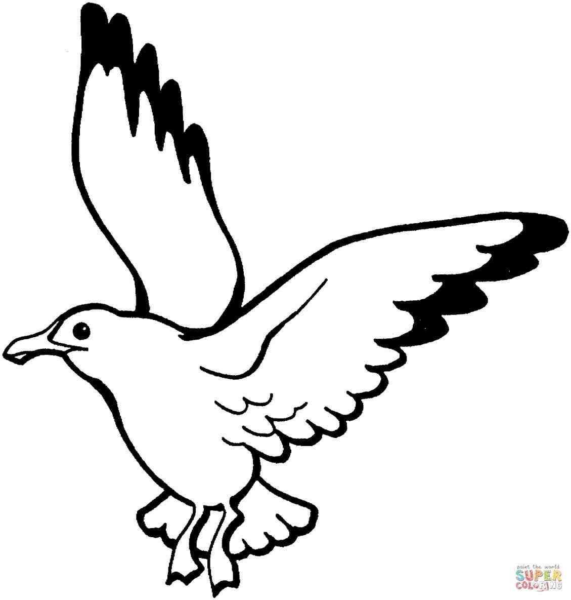 1129x1185 Easy Drawings Of Birds Flying