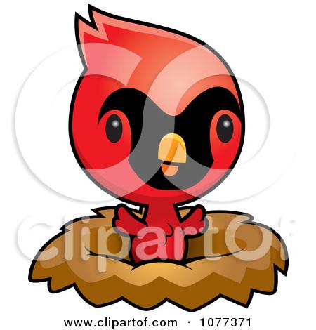 450x470 Cute Cardinal Clipart
