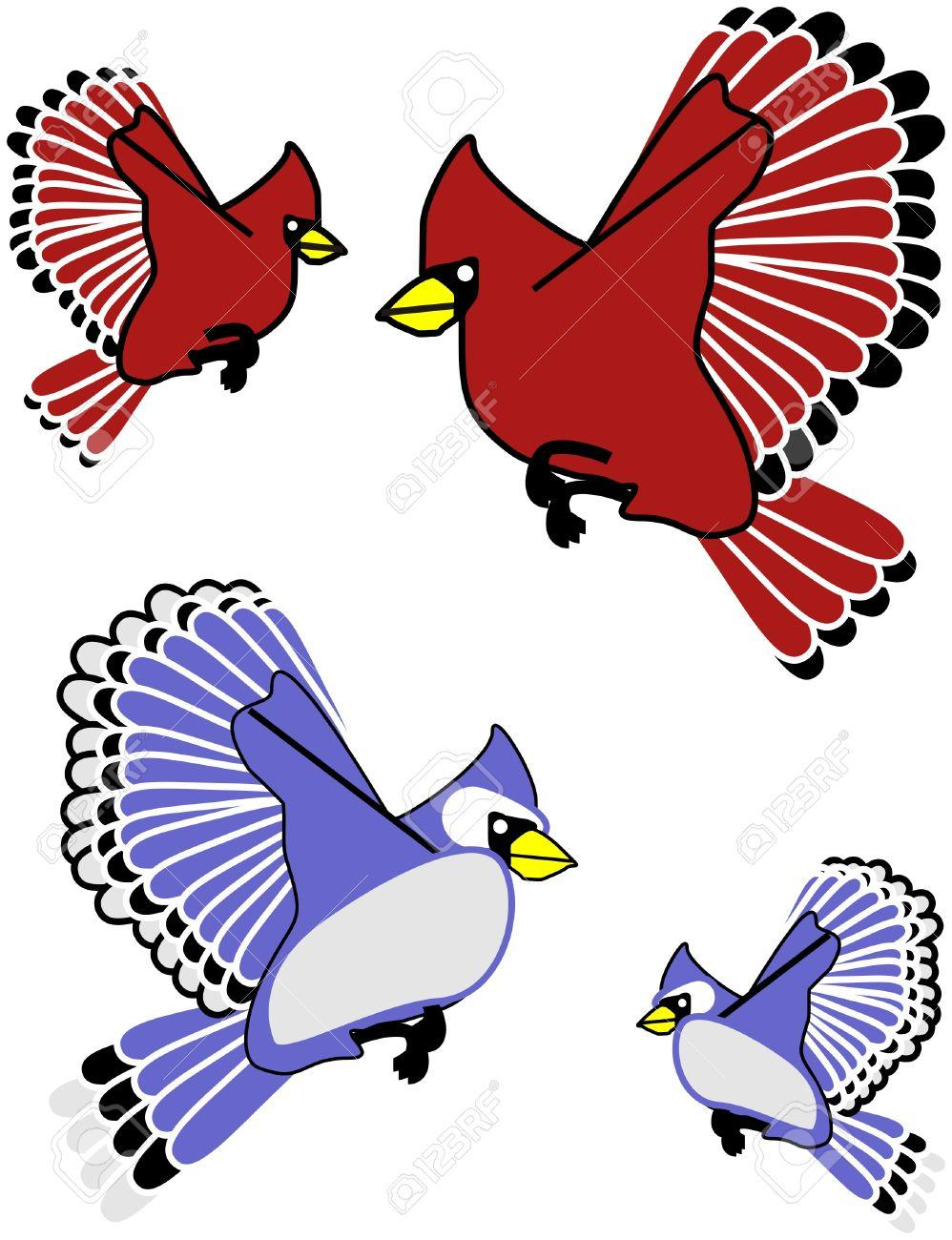 998x1300 Flying Blue Jay Clipart