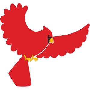 300x300 Cardinal Clipart Flying