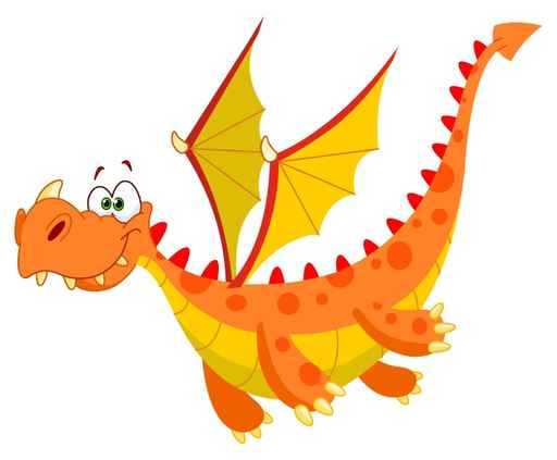 512x423 Flying Dragon Decals For Kids! Dragons And Clip Art