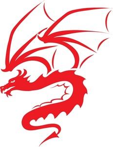 232x300 Free Dragon Clip Art Image