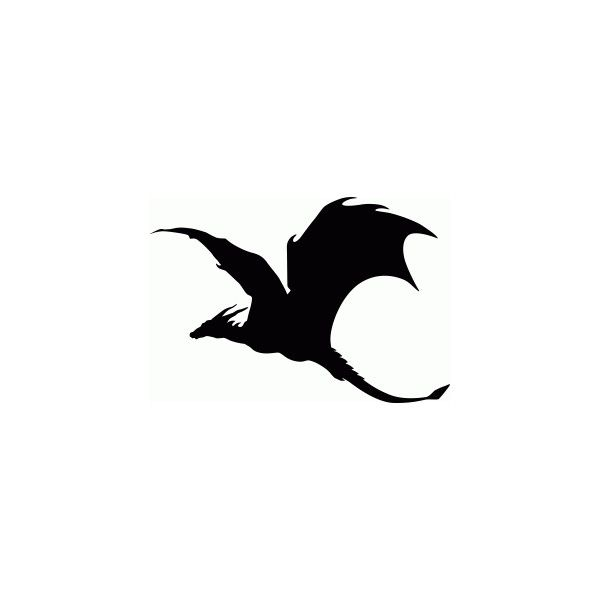600x600 The Best Dragon Silhouette Ideas Dragon Tattoo