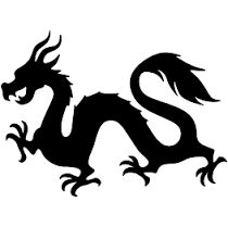 210x209 Dragon Silhouette Clipart Dragons Dragon