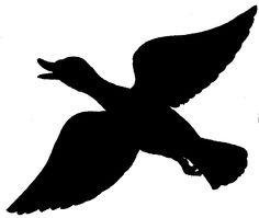 236x199 Duck Silhouette Clip Art