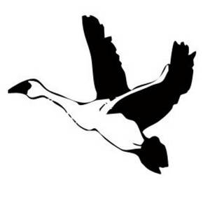 300x300 Clip Art Flying Geese Clipart