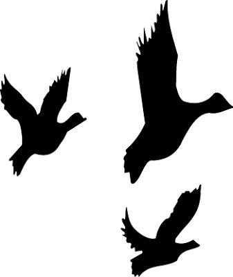 337x400 Mallard Duck Clipart Black And White Clipart Panda