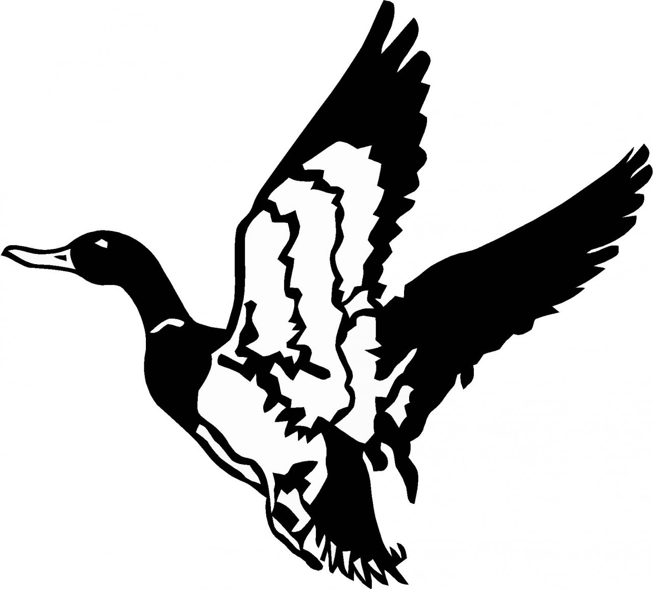 Flying Duck Silhouettes | Free download best Flying Duck ...  Flying Duck Sil...