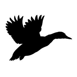 270x270 Duck Silhouette Stencil Free Stencil Gallery