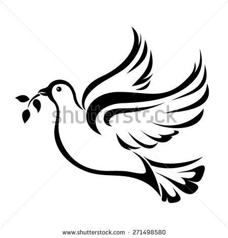 450x470 Flying And Holding Olive Branch Dove Clipart, Explore Pictures