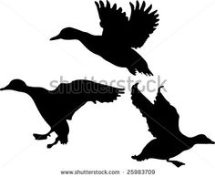 236x194 Free Stock Photo Illusted Silhouette Of Ducks Flyingvector