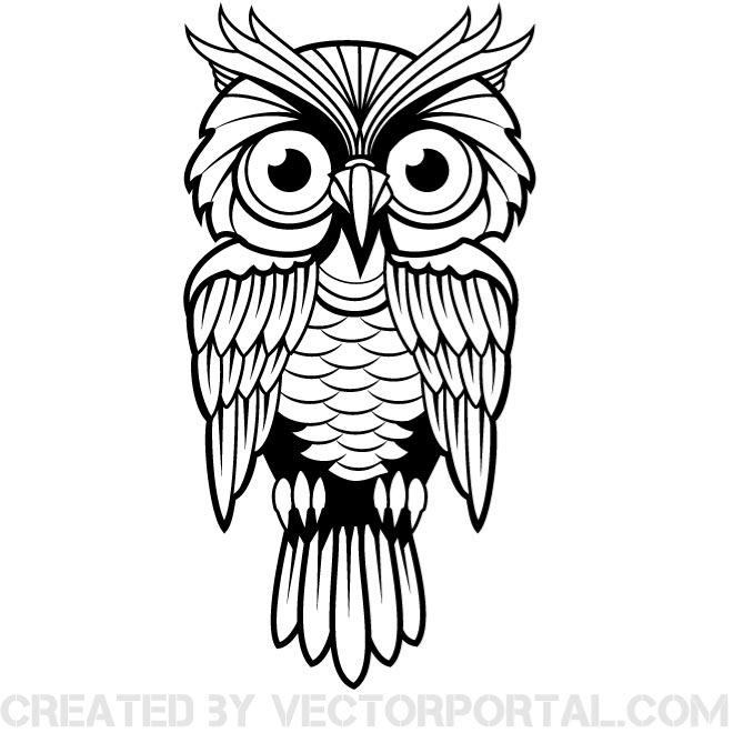 Flying Owl Clipart | Free download on ClipArtMag