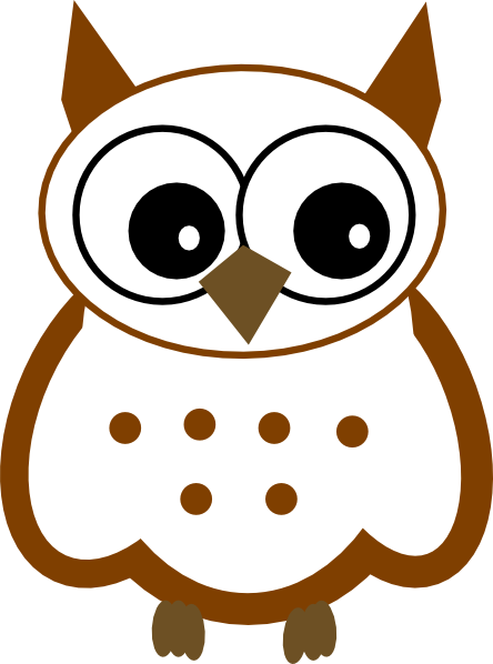 444x598 Snowy Owl Clip Art