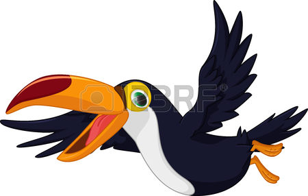 450x286 2,467 Flying Parrot Stock Vector Illustration And Royalty Free