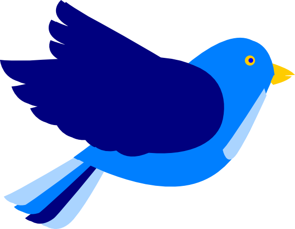 600x467 Blue Bird Flying Clip Art Cliparts