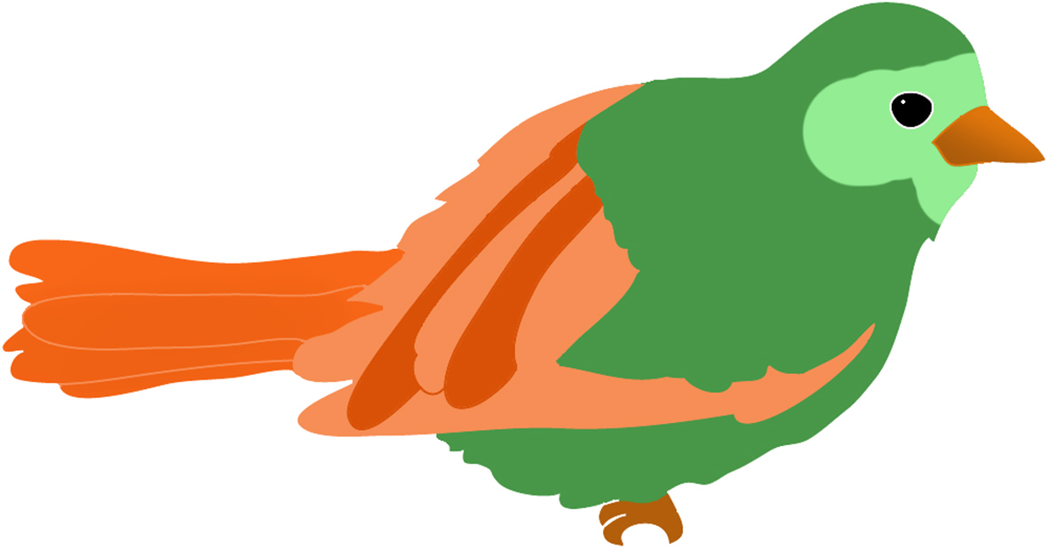 1181x619 Bird Clipart Colored