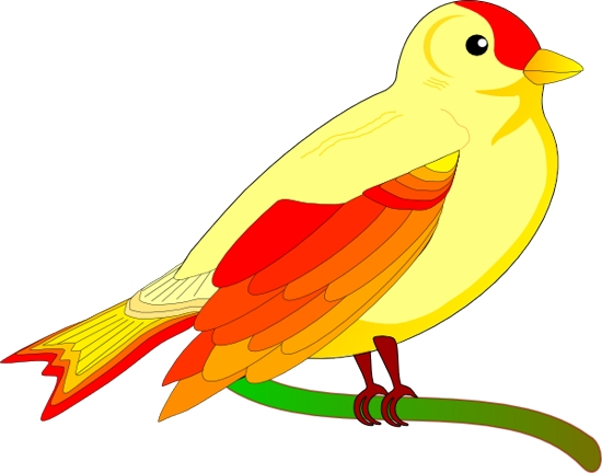 550x432 Bird Flying Clipart