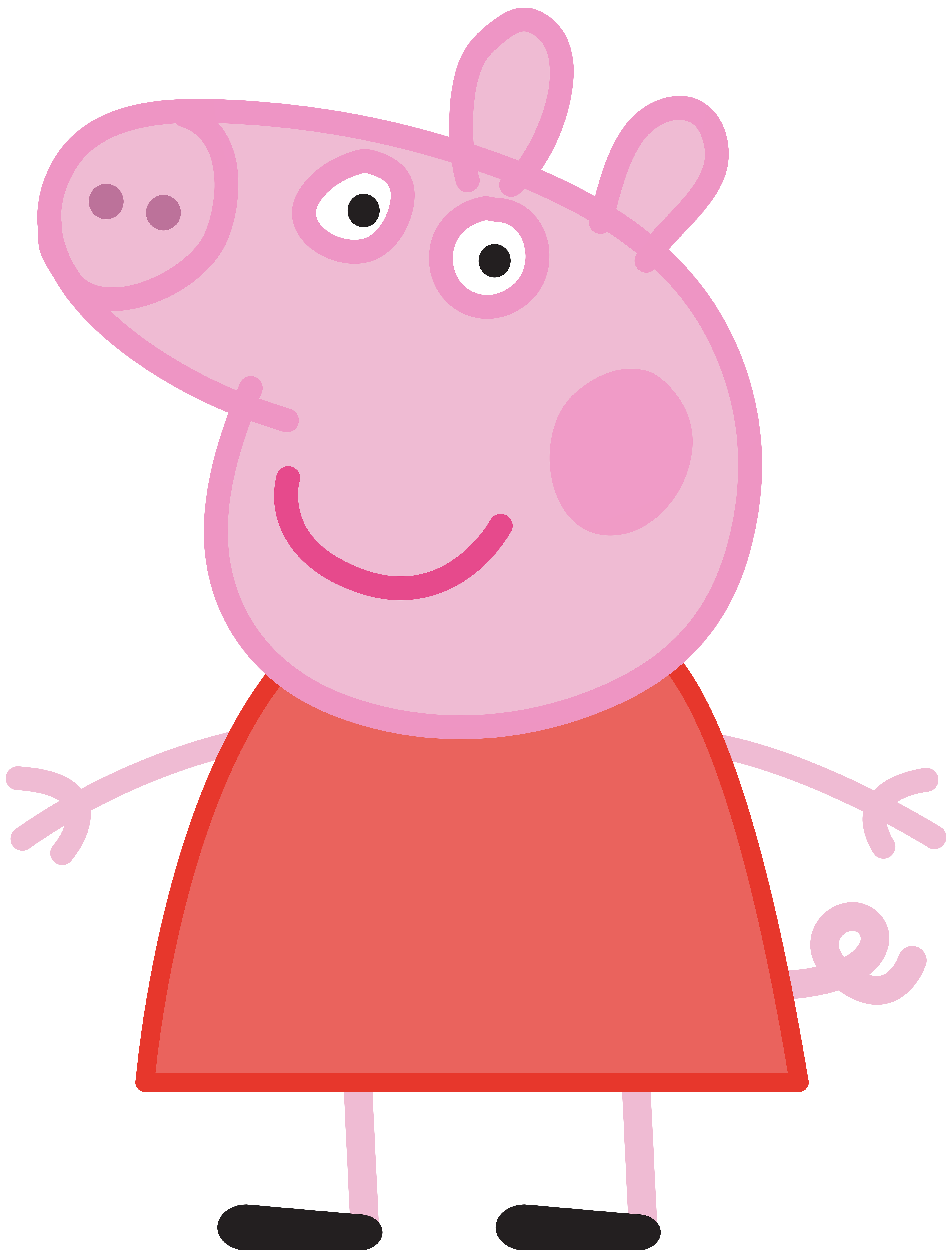 6057x8000 Peppa Pig Clip Art Many Interesting Cliparts