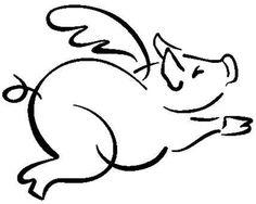 236x188 Pig Drawings Clip Art