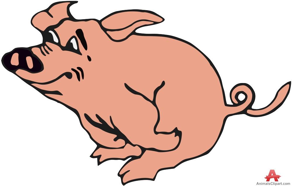 999x638 Pork Clipart Happy Pig