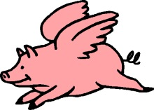220x157 Wings Clipart Pig