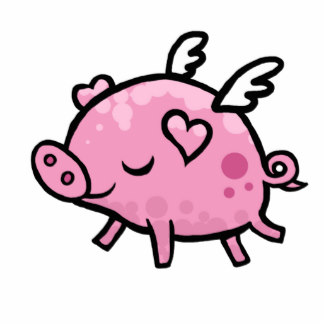 324x324 Cartoon Flying Pig