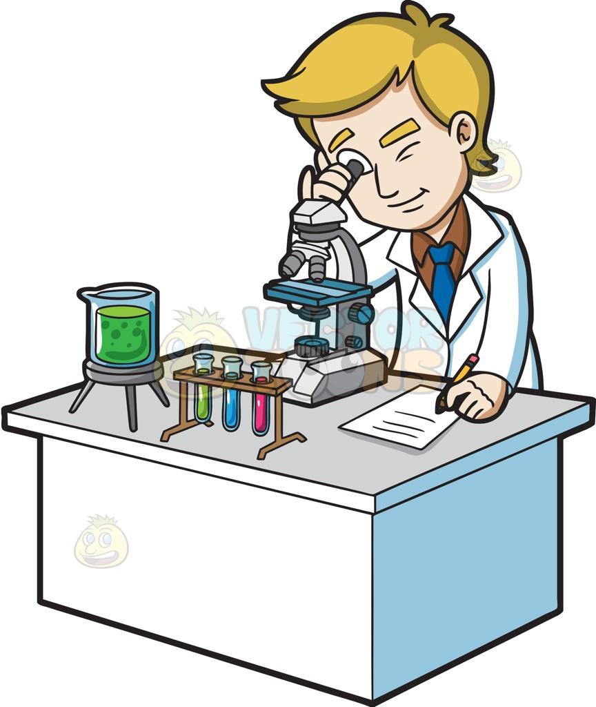 864x1024 Scientist Clipart