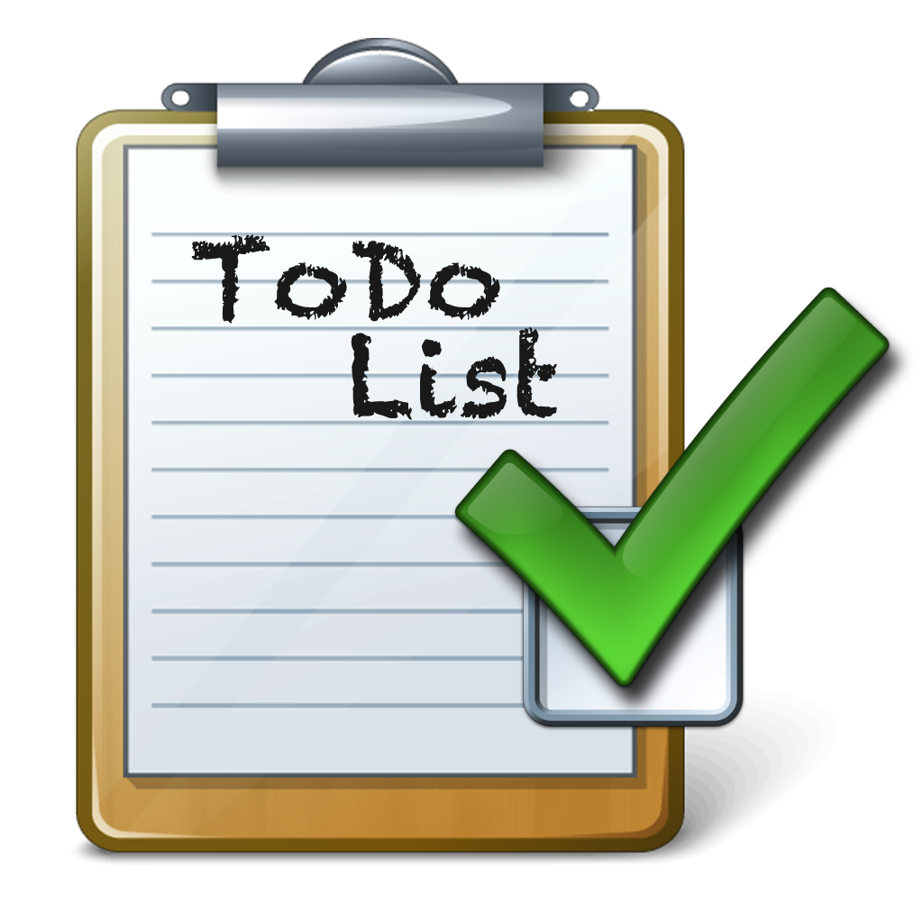 1024x1024 To Do List Clipart Many Interesting Cliparts