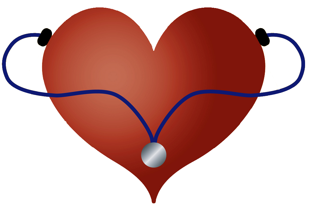 1002x685 Stethoscope Heart Clipart