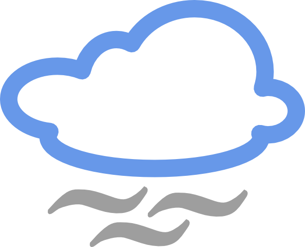 600x486 Cloudy Weather Symbols Clip Art