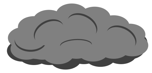 512x247 Fog Clipart Dark Cloud