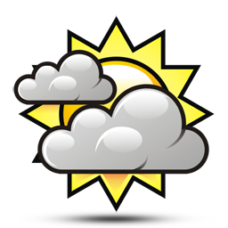 256x256 Sunny Clipart Weather Forecast Symbol