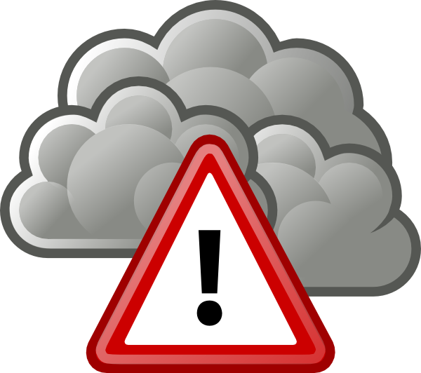 600x532 Tango Weather Severe Alert Clip Art